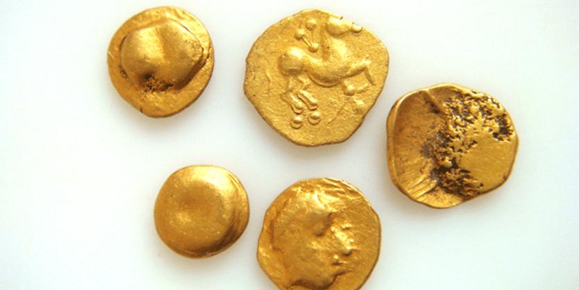 Keltische Goldmünzen